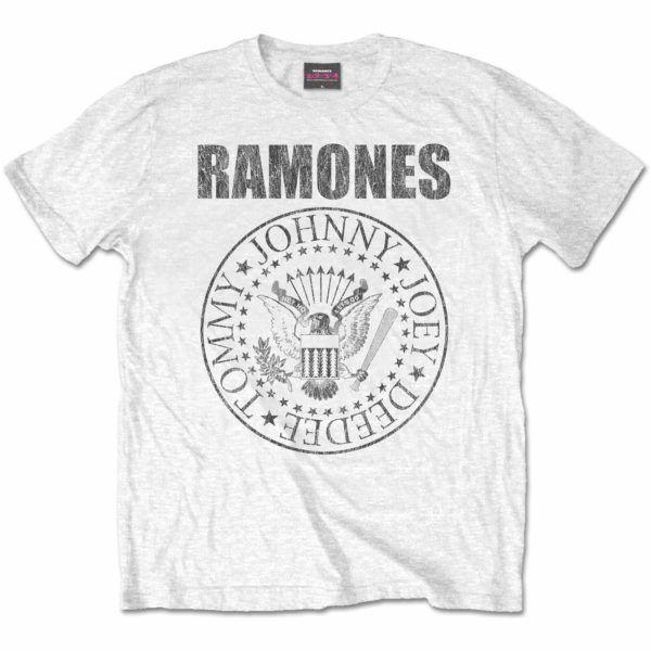 ramones white tshirt